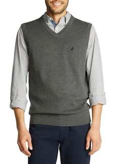 Nautica Navtech Cotton-Blend Sweater Vest