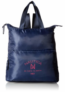 Nautica New Tack Packable Backpack navy