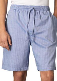 Nautica Pima Cotton Woven Pajama Shorts