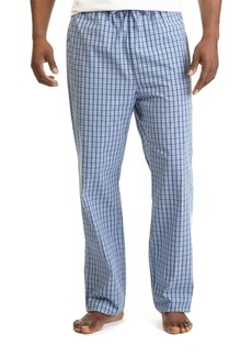 Nautica Plaid Cotton Pajama Pants