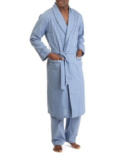 Nautica Plaid Cotton Robe