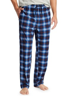 Nautica Plaid Fleece Pajama Pants