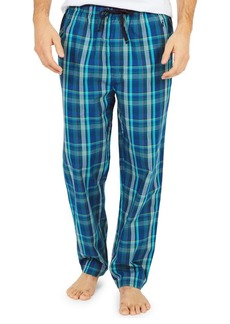 Nautica Plaid-Print Cotton Pajama Pants