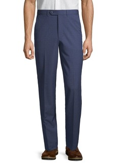 Nautica Modern-Fit Plaid Straight-Leg Suit Separate Pants