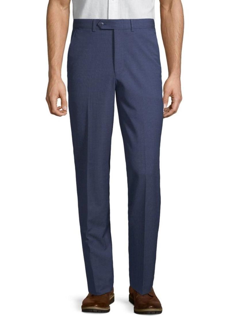 Nautica Modern-Fit Plaid Straight-Leg Suit Separate Pants