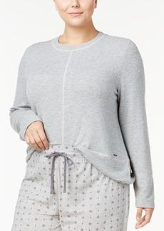Nautica Plus Size Dolman-Sleeve Pajama Top
