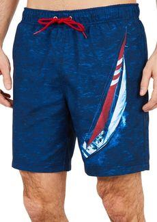 Nautica Printed Swim Trunks