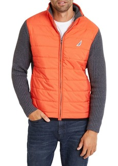 Nautica Quilted Logo Sweater