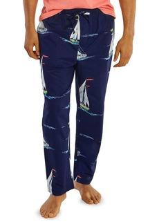 Nautica Sailboat Motif Cotton Pajama Pants