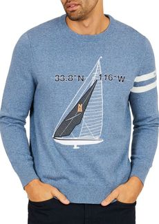 Nautica Sailboat Sweater