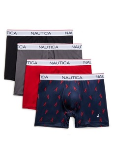 Nautica Set of Four Micro Performance Boxer Briefs