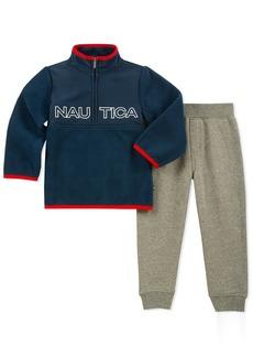Nautica Sets (KHQ) (RJ7QG) Kids and Baby 2 Pieces Pullover Pants