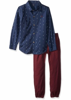 Nautica Sets (KHQ) (RJQG) Kids & Baby 2 Pieces Shirt Pants