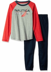 Nautica Sets (KHQ) (RJQG) Kids & Baby 2 Pieces Tee Pants