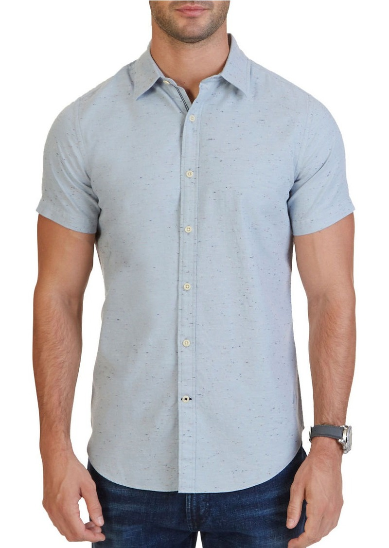NAUTICA Short Sleeve Cotton Twill Shirt