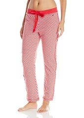 Nautica Sleepwear Women's Christmas Lights Printed Jersey Pajama Pant