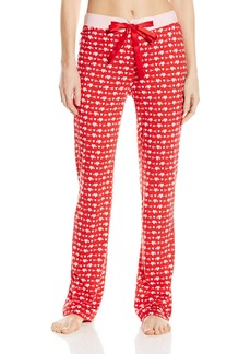 Nautica Sleepwear Women's Knit Heart Pajama Pant