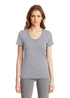 Nautica Sleepwear Women's Knit Jersey V-Neck Tee