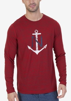 Nautica Space-Dyed Logo T-Shirt