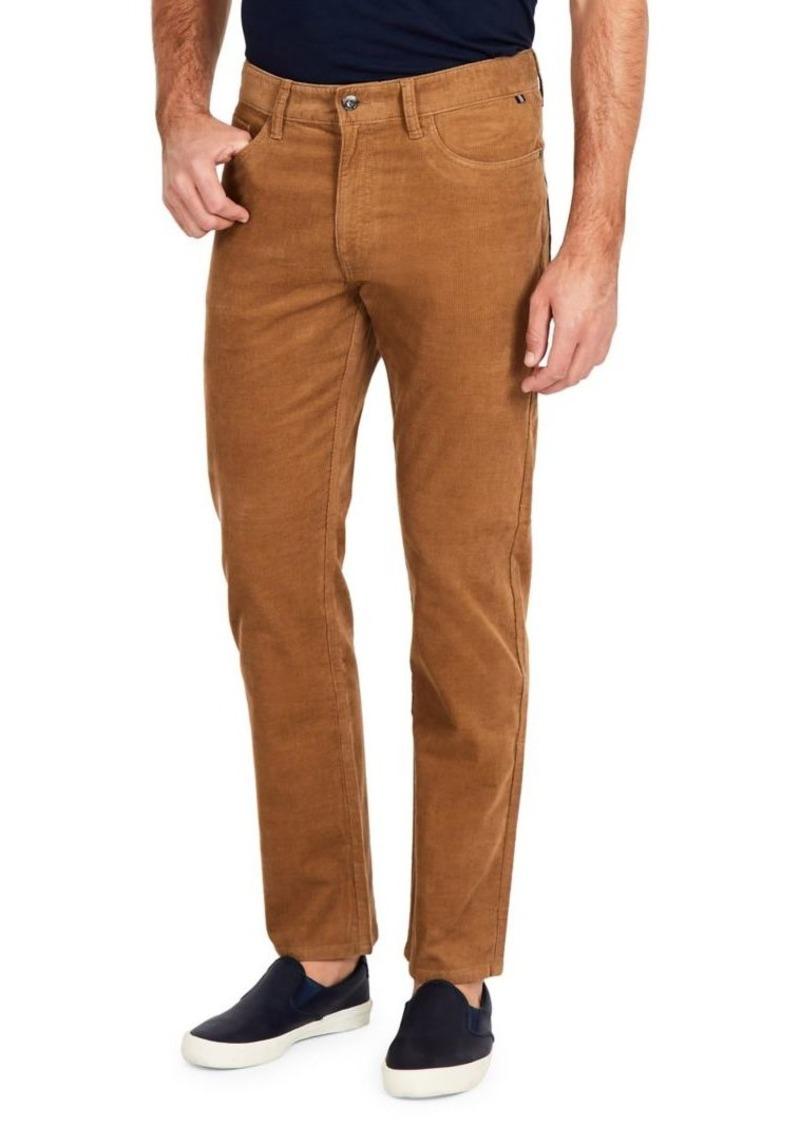 Nautica Straight-Fit Corduroy Five-Pocket Pants