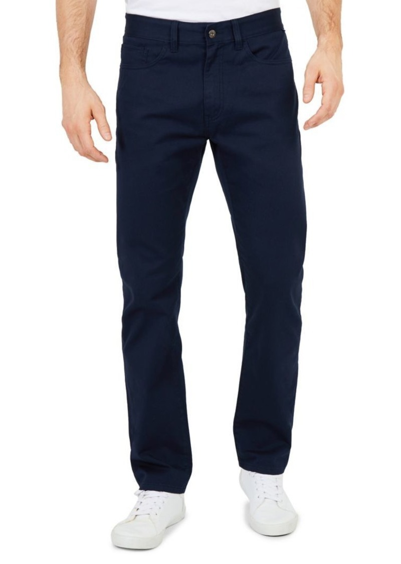 Nautica Straight-Fit Stretch-Cotton Pants