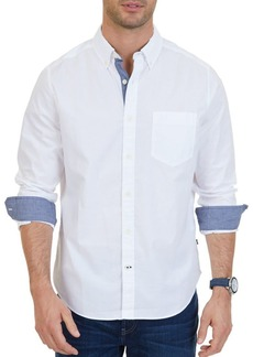 Nautica Stretch Casual Button-Down Shirt