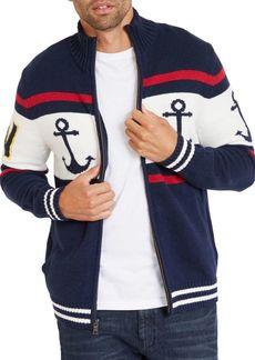 Nautica Striped Cotton Sweater