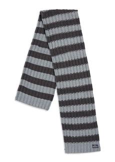 Nautica Striped Knit Scarf