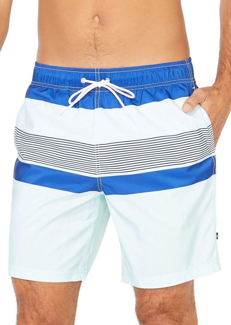 Nautica Striped Swim Shorts