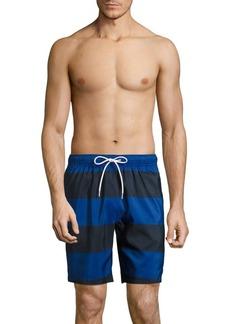 Nautica Striped Swim Trunks