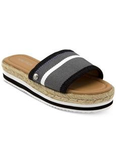 Nautica Tidegate Slip-On Espadrille Flatform Sandals Women's Shoes