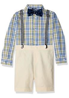 Nautica Toddler Boys' Four Piece Suspender Set