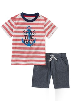 Nautica Toddler Boys' Tee With Shorts