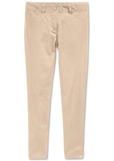 Nautica School Uniform Sateen Pants, Big Girls