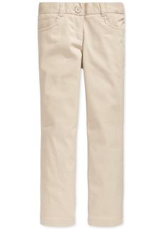 Nautica School Uniform Stretch Bootcut Pants, Big Girls