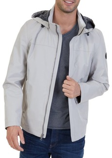 Nautica Water Repellent Hooded Jacket