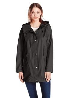 Nautica Women's Aline Rain Coat  XL
