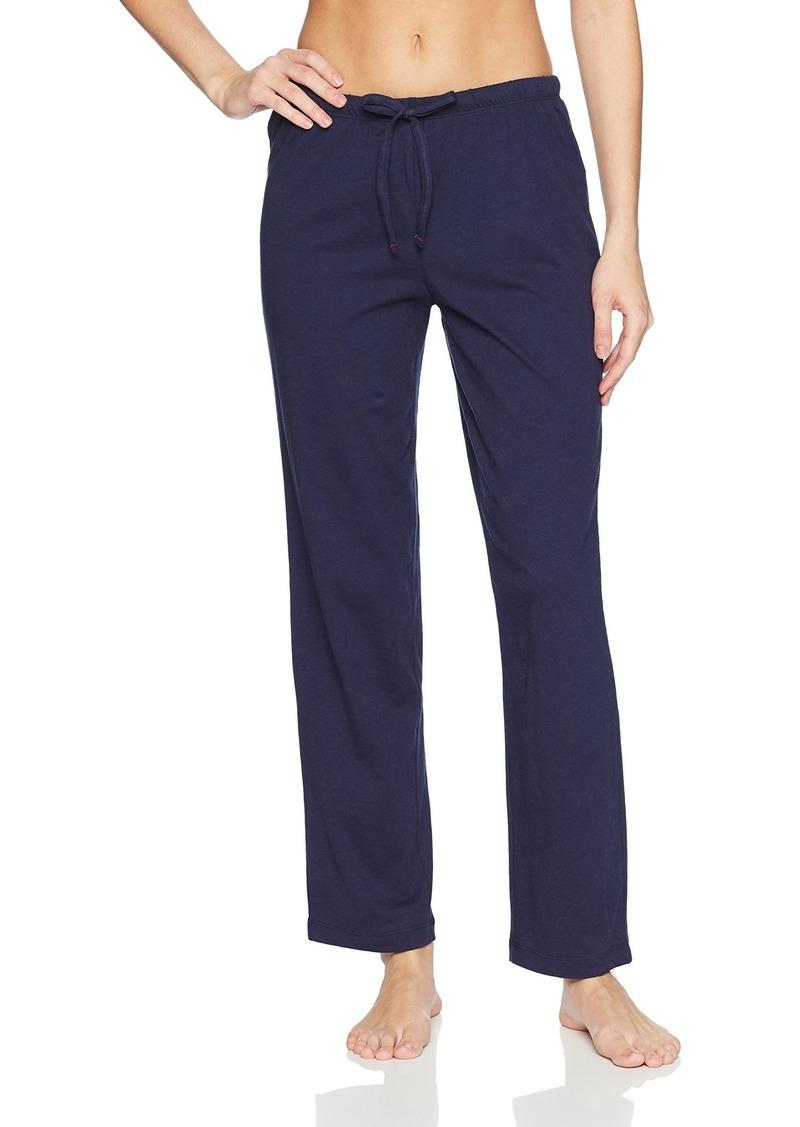 Nautica Women's Basic Knit Pajama Pant  L