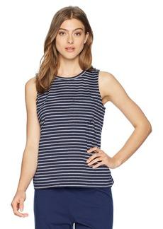 Nautica Women's Basic Knit Sleep Tank TOP  M