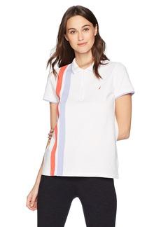 Nautica Women's Classic Heritage Short Sleeve Polo Shirt