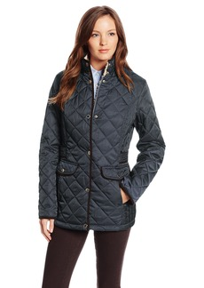 Nautica Women's Diamond Quilted Barn Jacket  Large