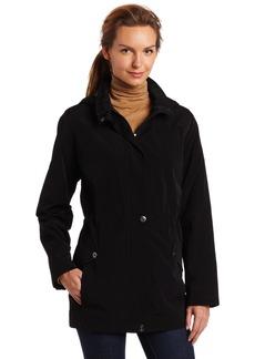 Nautica Women's Faux Snaux Anorak Zip-Out Plaid Liner Jacket