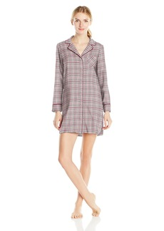 Nautica Women's Flannel Sleepshirt