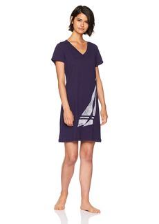 Nautica Women's Graphic Sleepshirt  L