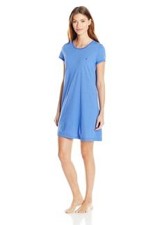 Nautica Women's Jersey Crewneck Sleepshirt  XL