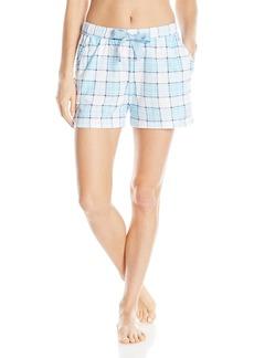 Nautica Women's Knit Jersey Boxer  L