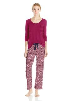 Nautica Women's Knit Pajama Set