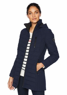 Nautica Women's Lightweight Stretch Jacket Navy seas