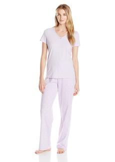 Nautica Women's Long Pajama Sets