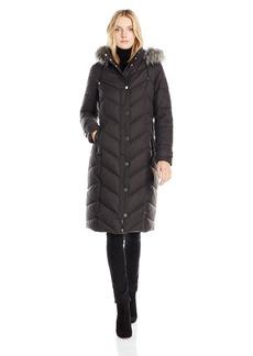 Nautica Women's Maxi Puffer Coat  XS